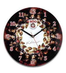 wall - clock - with - logo - photo