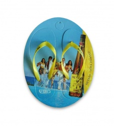 metaxa - flipflops - with - branding - photo