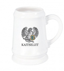 beer - mug - with - kaitseliit - logo - photo