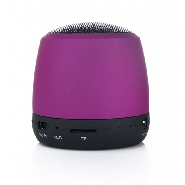 Logotrade advertising product image of: Mini Bluetooth Speaker color purple