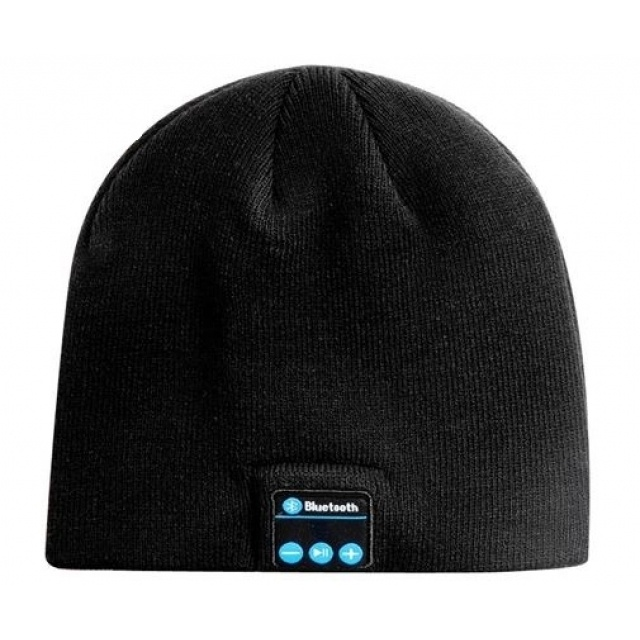 Logotrade business gifts photo of: Bluetooth Beanie 3.0  color black