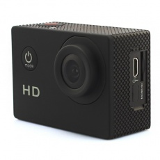 Pocket Action Camera with HD wide angle lens, black