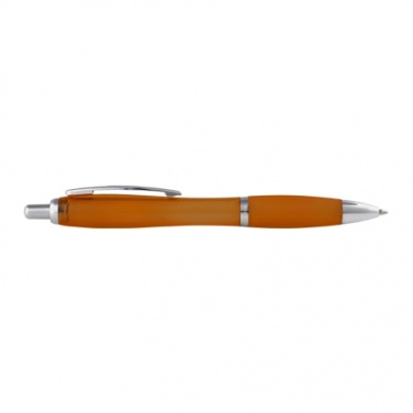 Logotrade promotional giveaway picture of: Plastic ball pen ' Moscow', orange