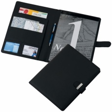 A4 folder 'Reggello'  color black