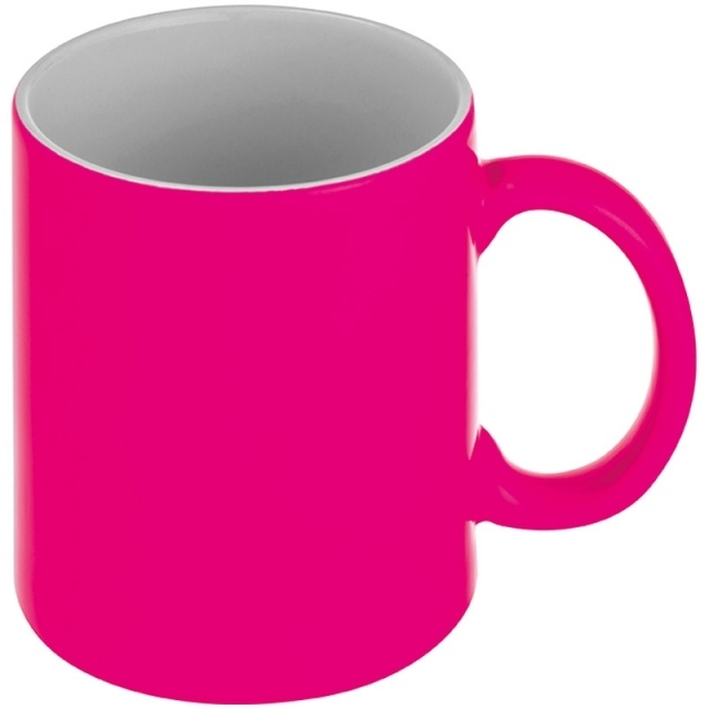 Sublimation mug ESTRELLA 300 ml color pink | Logotrade