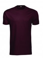 #4 T-shirt Rock T, burgundy