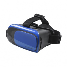 Virtual reality headset blue