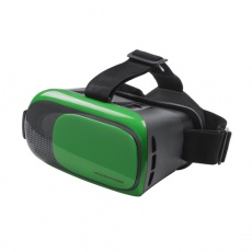 Virtual reality headset green