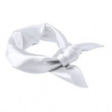 ladies scarf Cool, white