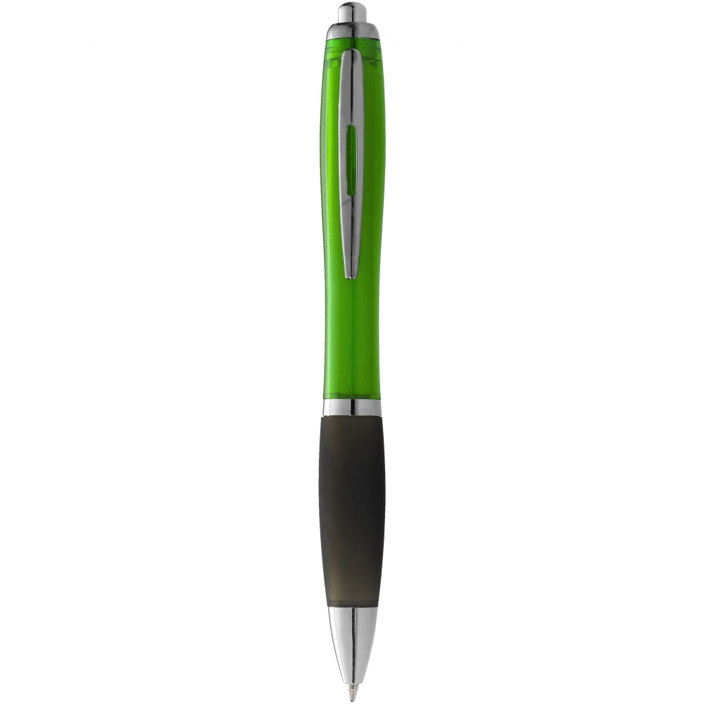 Logo trade promotional gifts picture of: Nash ballpoint pen, light green