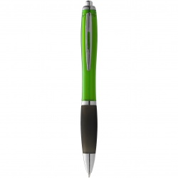 Logotrade promotional gift image of: Nash ballpoint pen, light green
