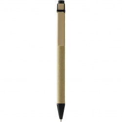 Logo trade corporate gift photo of: Salvador ballpoint pen, black