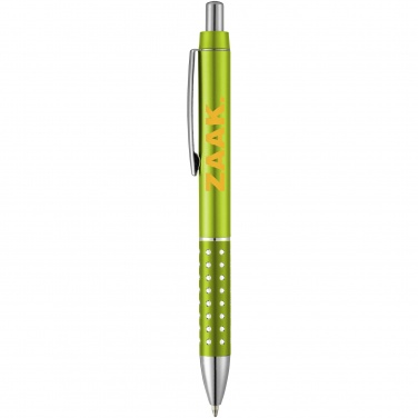 Logo trade promotional gifts image of: Bling ballpoint pen, light green