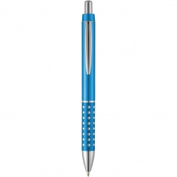 Logo trade promotional giveaway photo of: Bling ballpoint pen, light blue