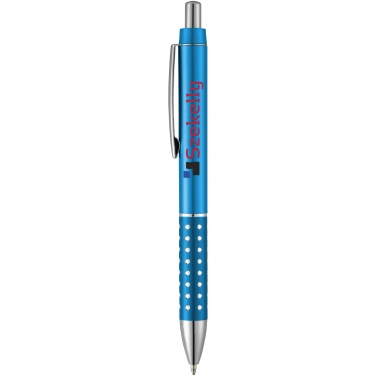Logotrade promotional product picture of: Bling ballpoint pen, light blue