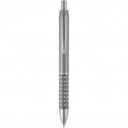 Logo trade corporate gift photo of: Bling ballpoint pen, dark grey