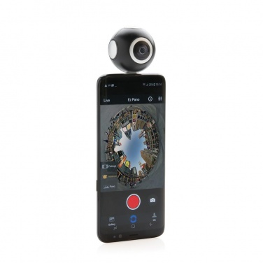 Logotrade advertising product image of: Dual lens 360° photo and video camera