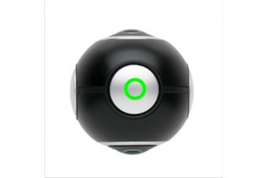 Logo trade promotional gift photo of: Dual lens 360° photo and video camera