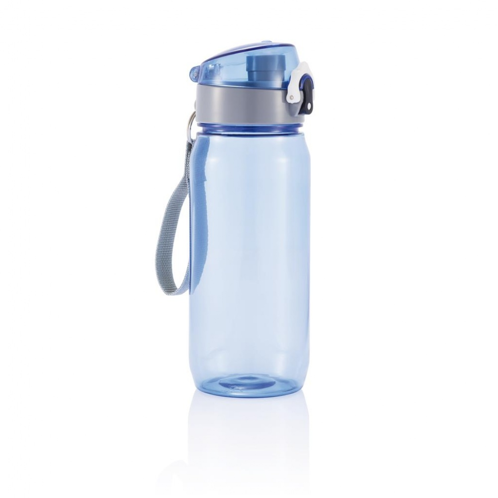 Logotrade advertising products photo of: Tritan water bottle 600 ml, blue/grey
