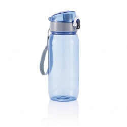 Logo trade promotional items picture of: Tritan water bottle 600 ml, blue/grey
