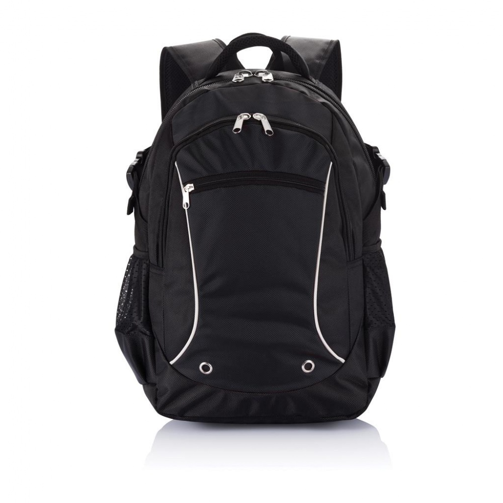 Logotrade promotional gifts photo of: Denver laptop backpack PVC free, black