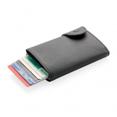 1. C-Secure RFID card holder & wallet, black
