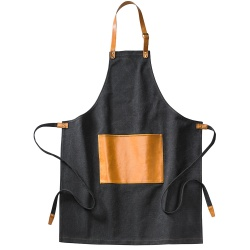Logo trade promotional product photo of: Asado Apron Black