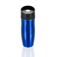 Air Gifts thermo mug 350 ml, leakproof, blue