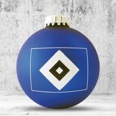 Christmas ball with 2-3 color logo 6 cm