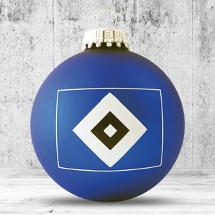 Logotrade promotional merchandise picture of: Christmas ball with 4-5 color logo 6 cm