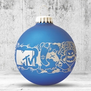 Logo trade promotional merchandise picture of: Christmas ball with 4-5 color logo 6 cm