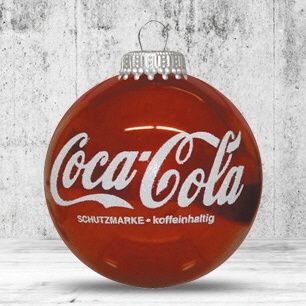 Logotrade promotional giveaways photo of: Christmas ball with 4-5 color logo 6 cm