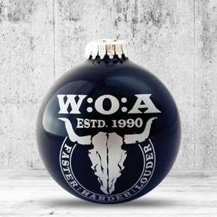 Logo trade corporate gifts image of: Christmas ball with 4-5 color logo 6 cm
