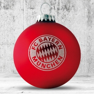 Logotrade promotional item picture of: Christmas ball with 4-5 color logo 6 cm