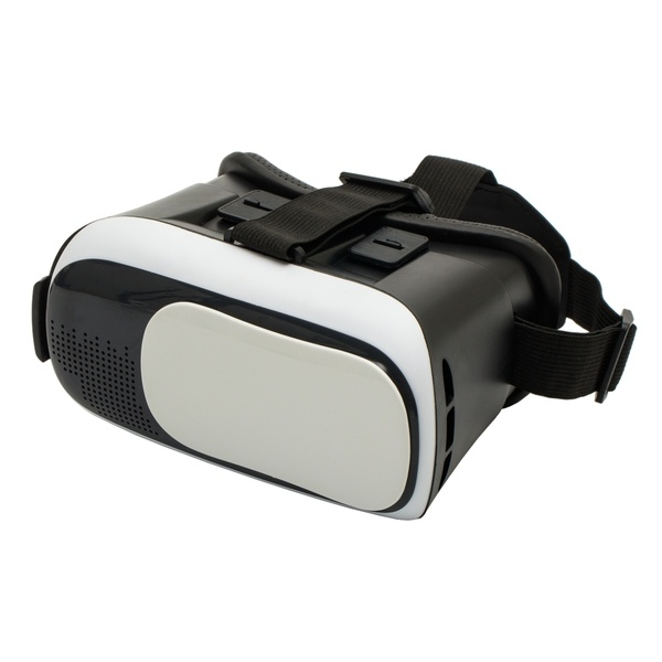 Logo trade promotional giveaways picture of: Cyberspace VR glasses, white/black
