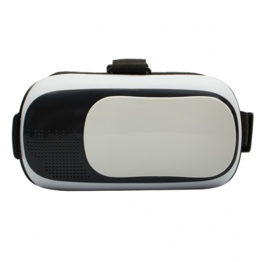 Logo trade promotional giveaways image of: Cyberspace VR glasses, white/black