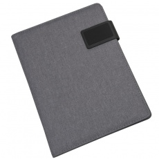 A4 Conference folder SALERMO, Grey