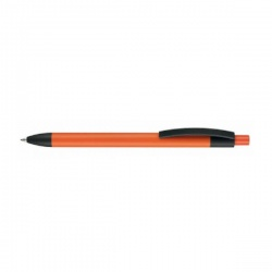 Logotrade promotional gift picture of: Pen, soft touch, Capri, orange