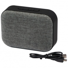 Bluetooth speaker + radio, grey