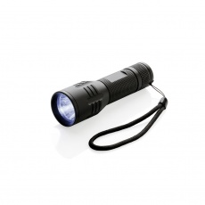 3W medium CREE torch, black