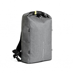Logotrade promotional product picture of: Bobby Urban Lite anti-theft backpack, grey