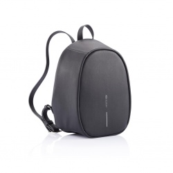 Logo trade promotional items image of: Bobby Elle anti-theft backpack, black