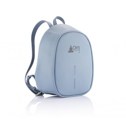 Logo trade promotional gifts picture of: Bobby Elle anti-theft backpack, light blue
