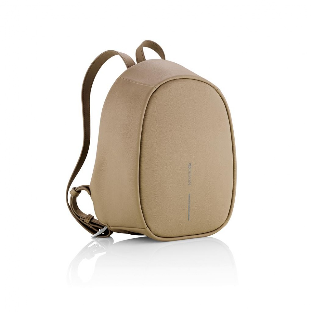 Logo trade promotional products picture of: Bobby Elle anti-theft backpack, brown