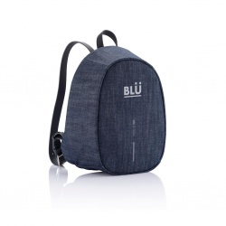 Logotrade promotional giveaway image of: Bobby Elle anti-theft backpack, blue