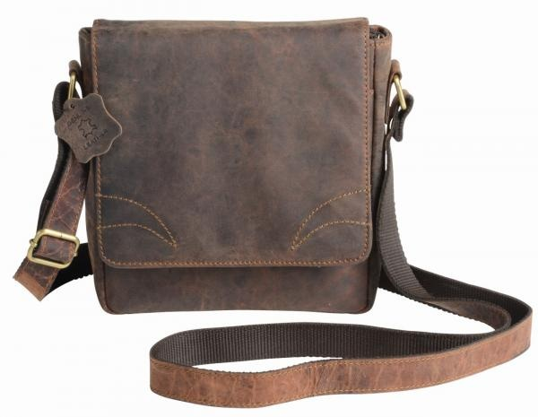 Logotrade promotional product image of: Genuine leather bag WILDERNESS, brown