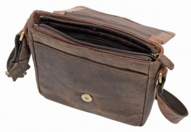 Logotrade promotional gift picture of: Genuine leather bag WILDERNESS, brown