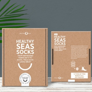 Logo trade promotional products image of: Healthy Seas Socks