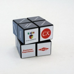 Logo trade advertising products image of: 3D Rubik's Cube, 2x2