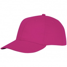 Ares 6 panel cap, pink